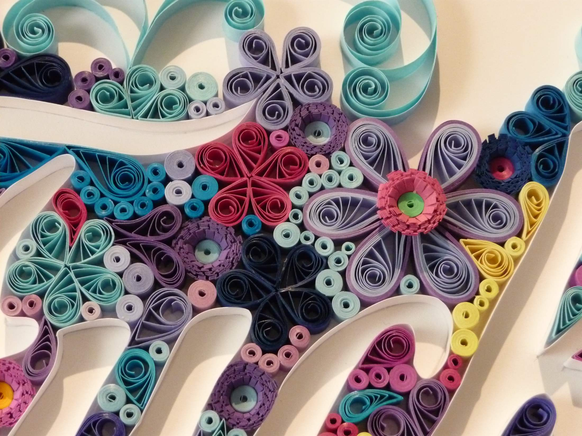 Quilling By Kath Melbourne Quilling Wallart 3