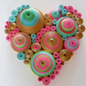 Quilled CandyHeart